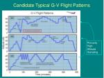 candidate typical g v flight patterns
