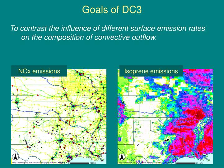Goals of DC3
