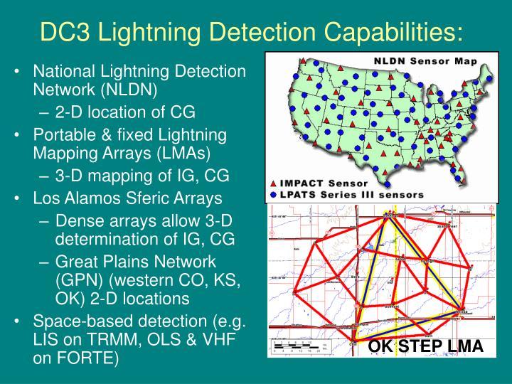 DC3 Lightning Detection Capabilities: