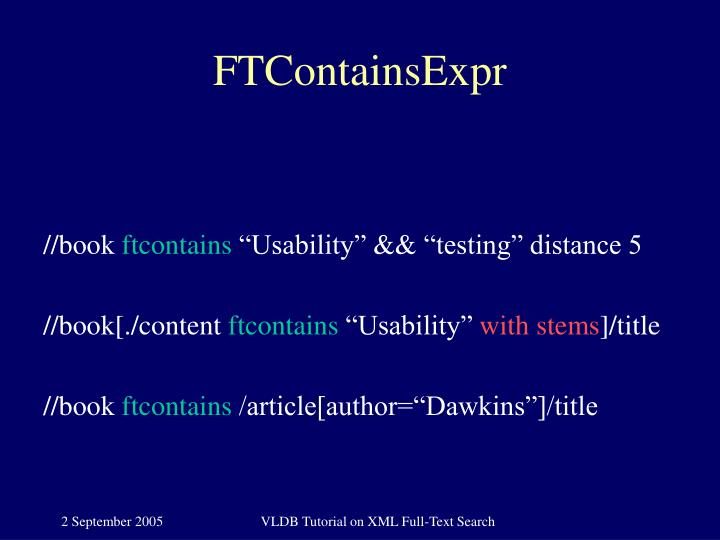 FTContainsExpr