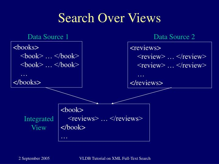 Search Over Views