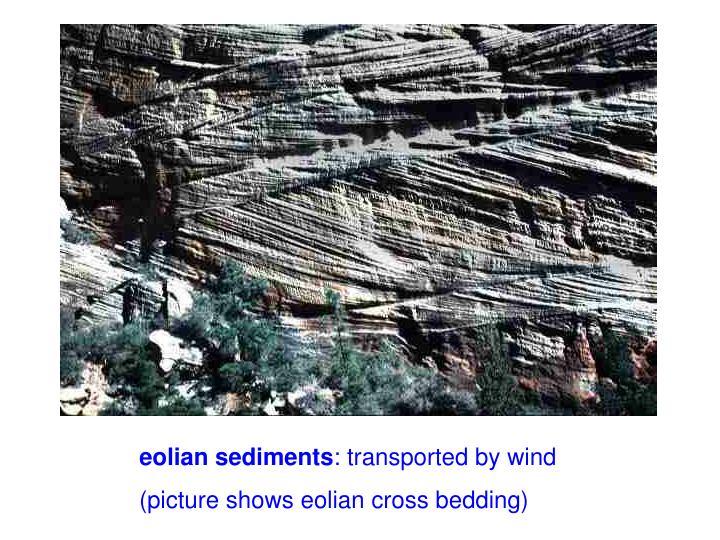 eolian sediments