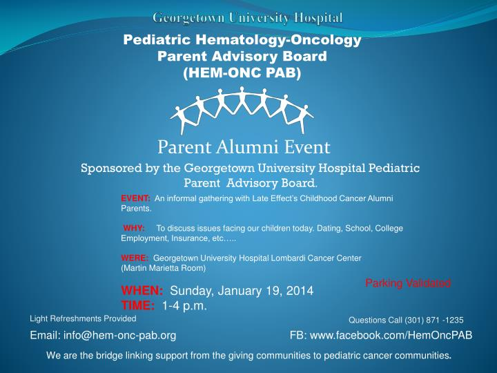Pediatric Hematology-Oncology