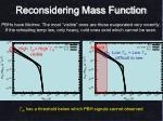 reconsidering mass function