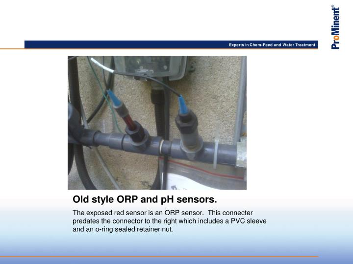 Old style orp and ph sensors