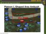 platoon l shaped area ambush