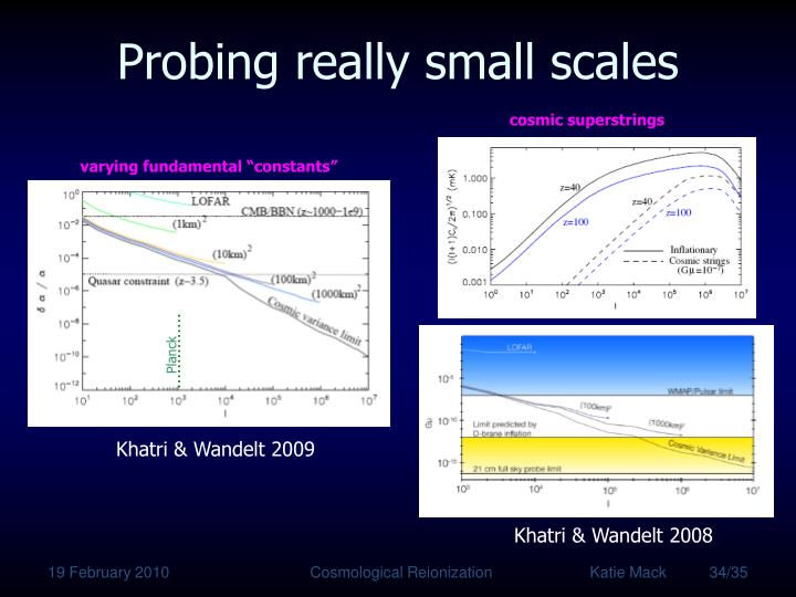 Probing really small scales