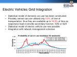 electric vehicles grid integration