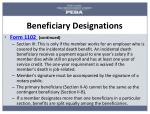 beneficiary designations1