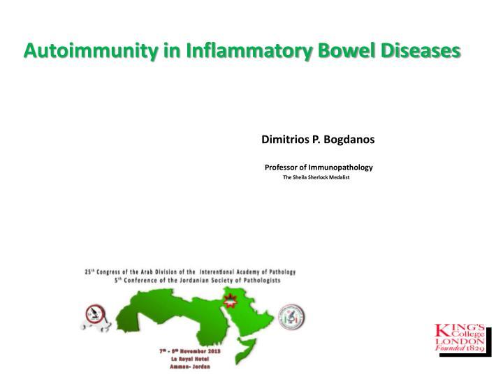 Autoimmunity in Inflammatory Bowel Diseases