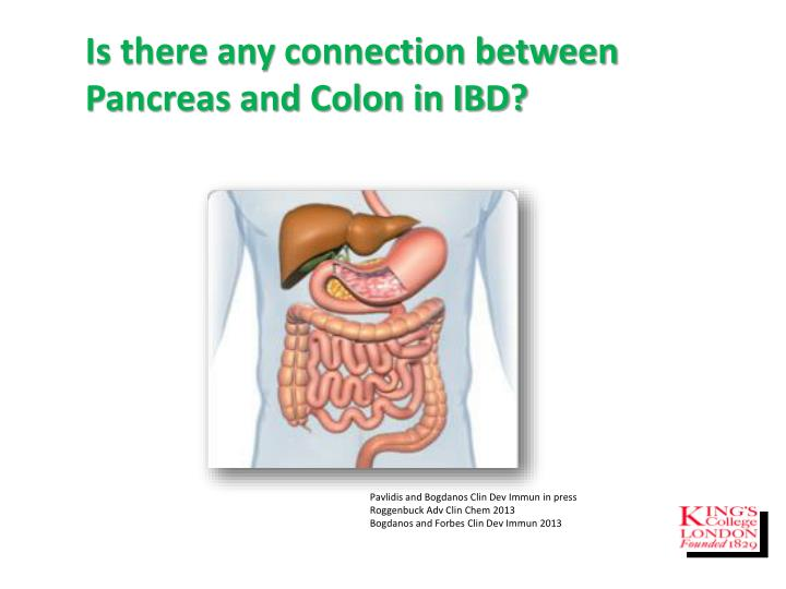 Is there any connection between Pancreas and Colon in IBD?