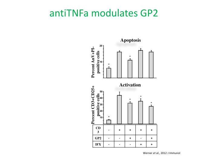 antiTNFa modulates GP2