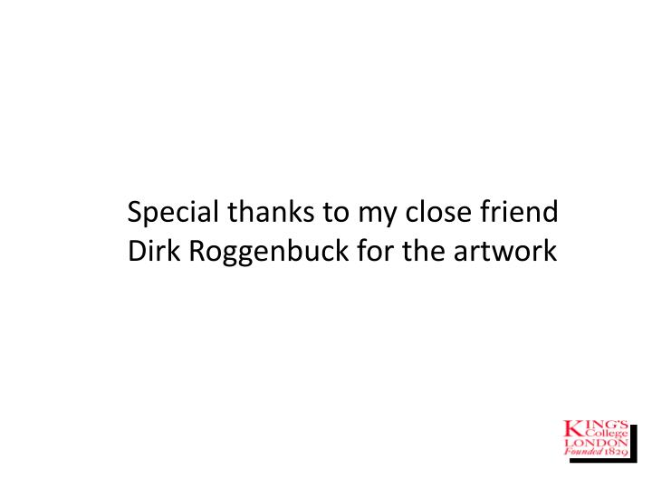 Special thanks to my close friend Dirk Roggenbuck for the artwork