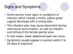 signs and symptoms1