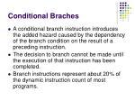 conditional braches