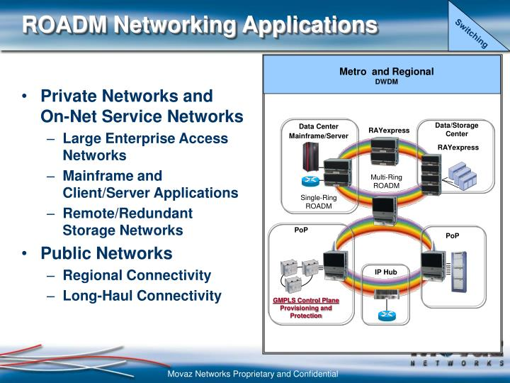 Private Networks and On-Net Service Networks