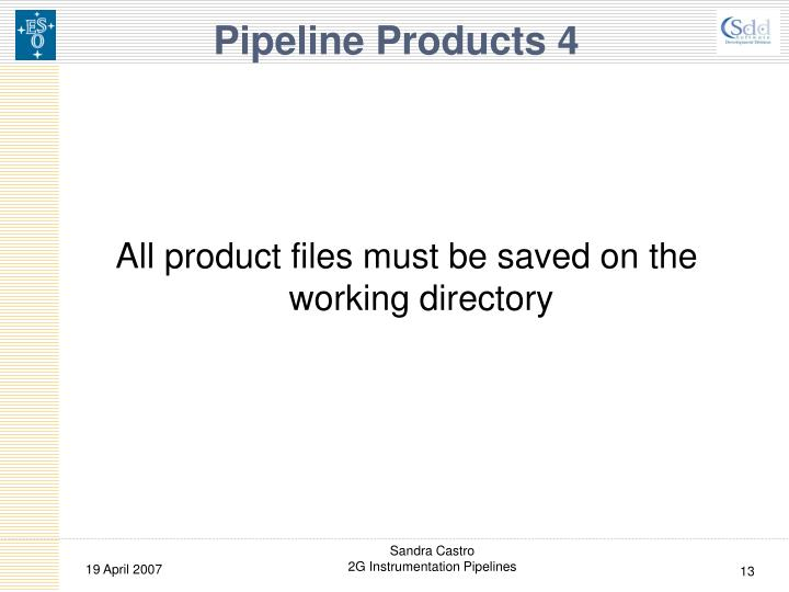Pipeline Products 4