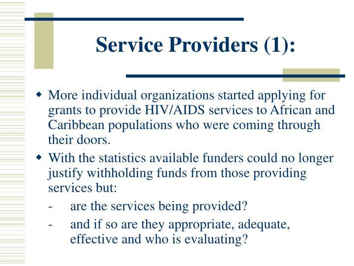 Service Providers (1):