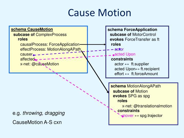 Cause Motion
