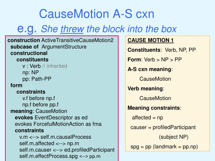 CauseMotion A-S cxn