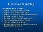 finan na zakonodaja