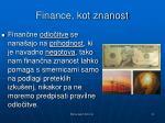 finance kot znanost1