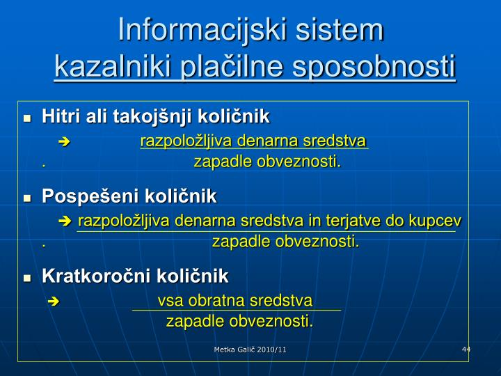 Informacijski sistem