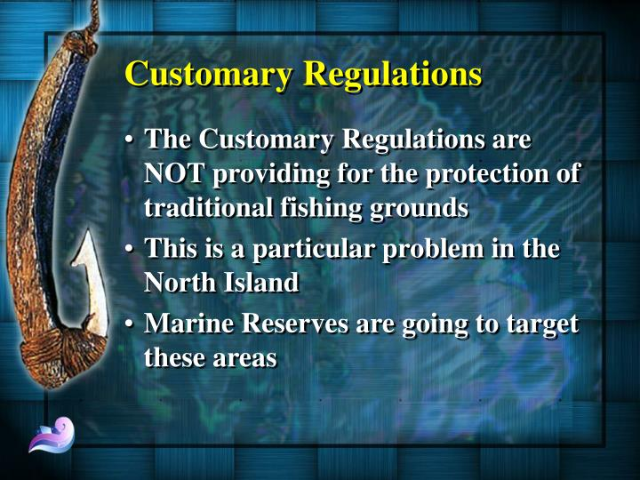 Customary Regulations