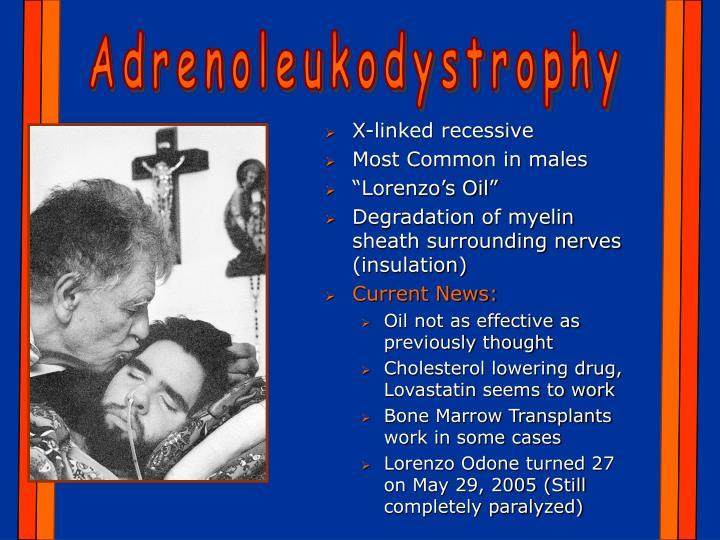 Adrenoleukodystrophy