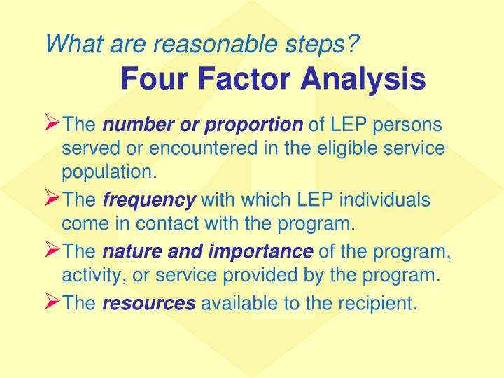 What are reasonable steps?