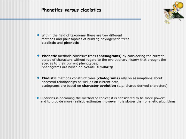 Phenetics