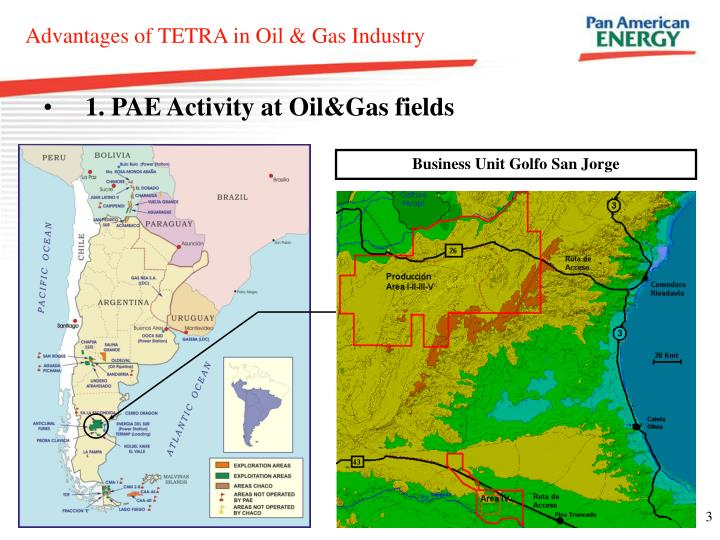 1. PAE Activity at Oil&Gas fields
