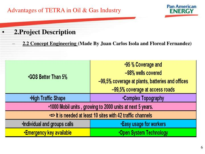 Advantages of TETRA in Oil & Gas Industry