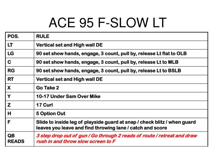 ACE 95 F-SLOW LT
