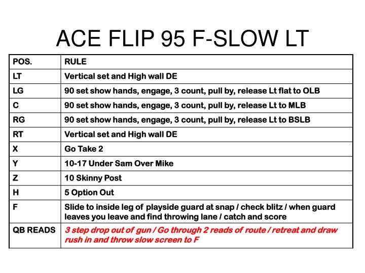 ACE FLIP 95 F-SLOW LT