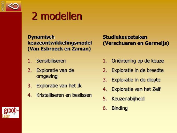 2 modellen