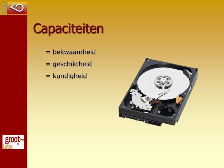 Capaciteiten