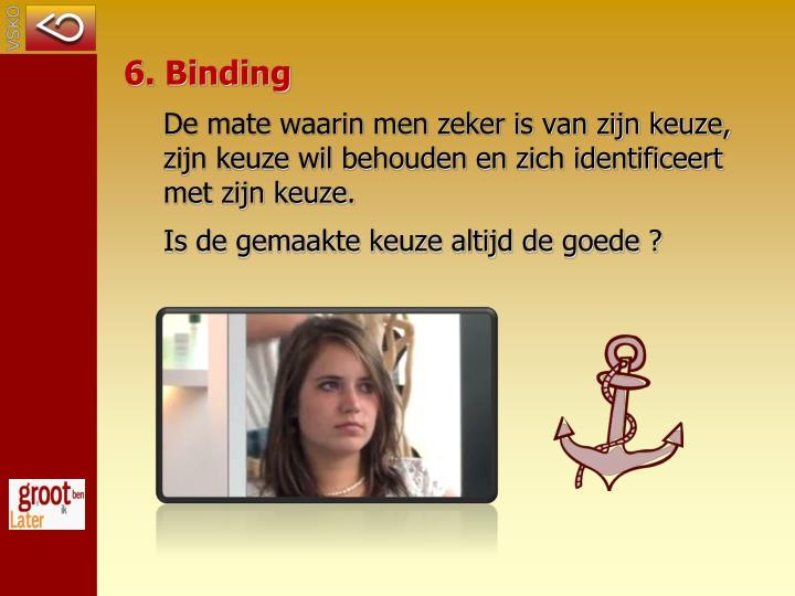 6. Binding