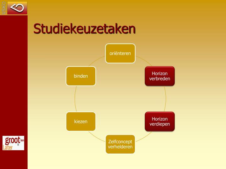 Studiekeuzetaken