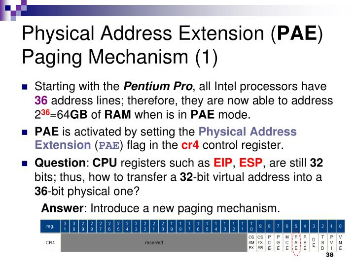 Physical Address Extension (