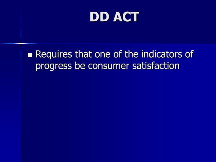 DD ACT