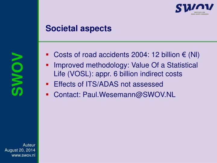 Societal aspects