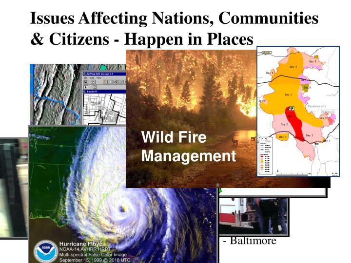 Wild Fire Management