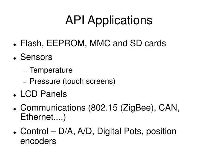 API Applications