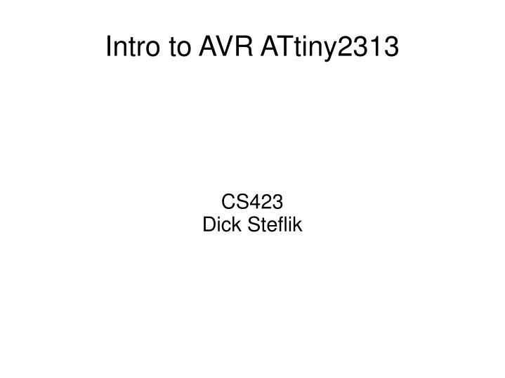CS423