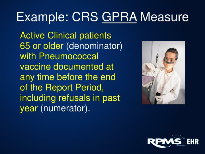 Example: CRS