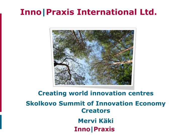 inno praxis international ltd