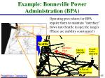 example bonneville power administration bpa