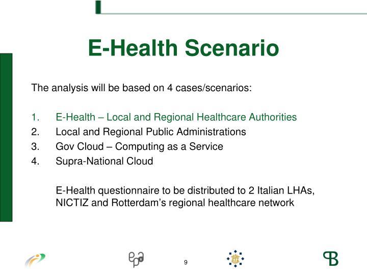 E-Health Scenario