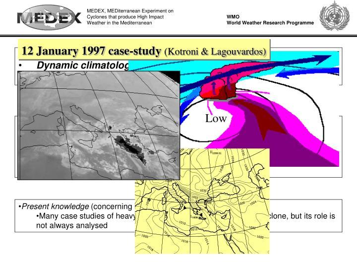 12 January 1997 case-study